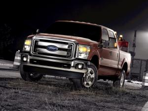 Ford F-350 Super Duty Crew Cab 2010 года