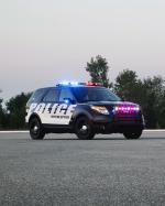 Ford Police Interceptor Utility Vehicle 2010 года