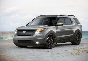 2011 Ford Explorer SEMA Editions