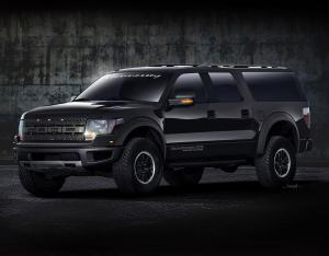 2011 Ford F-150 VelociRaptor 575 Supercharged by Hennessey Performance