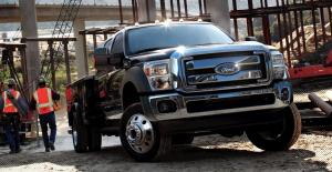 Ford F-350 Super Duty 2011 года