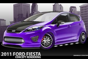 2011 Ford Fiesta by M2-Motoring