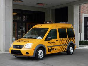 Ford Transit Connect Taxi 2011 года
