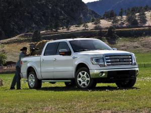 Ford F-150 King Ranch SuperCrew 2012 года