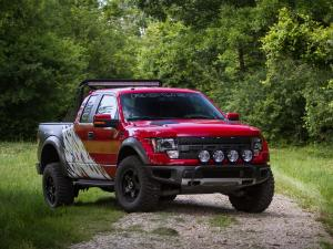 2012 Ford F-150 SVT Raptor by Roush and Greg Biffle