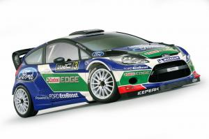 Ford Fiesta RS WRC 2012 года