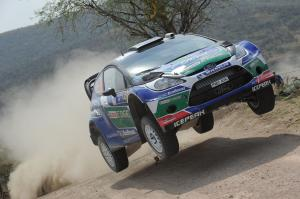 2012 Ford Fiesta WRC Rally of Mexico