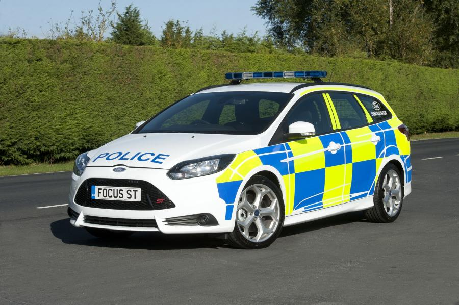 Ford Focus ST Wagon UK Police Car