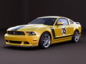 Ford Mustang Boss 302 Laguna Seca Parnelli Jones Edition 2012 года
