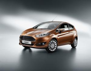 Ford Fiesta 3-Door 2013 года