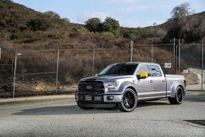 2014 Ford F-150 Widebody King by TS Designs on Forgiato Wheels