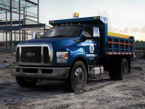Ford F-650 Super Duty Dump Truck 2014 года