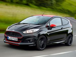 Ford Fiesta Zetec S Black 2014 года