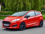 Ford Fiesta Zetec S Red 2014 года