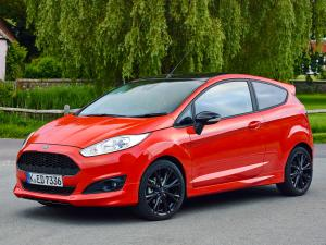 2014 Ford Fiesta Zetec S Red