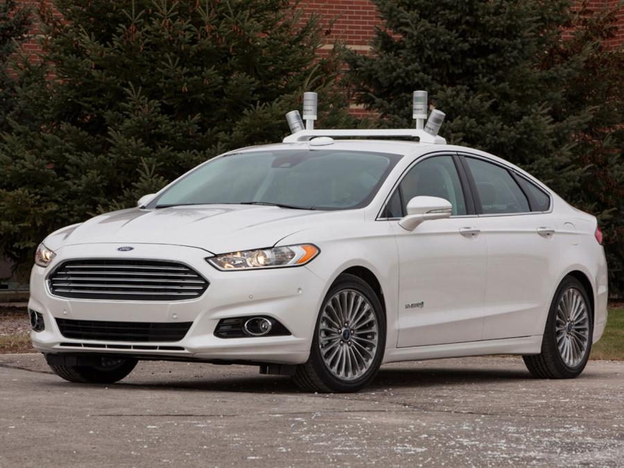 Ford Fusion Hybrid Automated Research Vehicle '2014