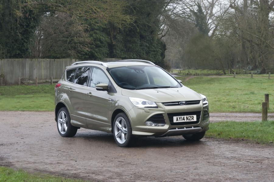 2014 Ford Kuga Titanium X Sport (UK)