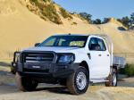 Ford Ranger Double Cab Chassis 2014 года (ZA)
