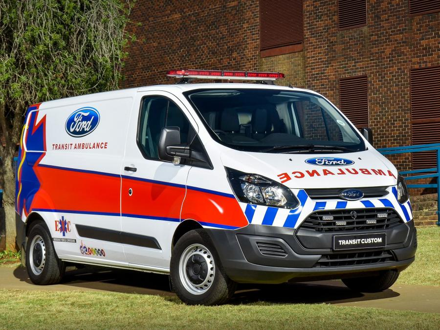 Ford Transit Custom Ambulance