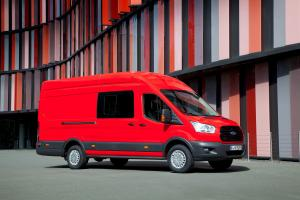Ford Transit Jumbo Double-Cab-in-Van L4H3 2014 года