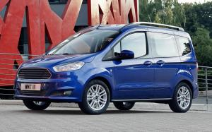 2014 Ford Tourneo Courier (Deep Impact Blue Met)
