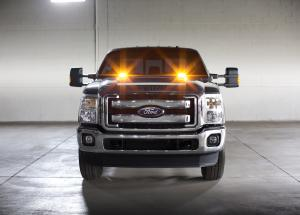 Ford F-150 Super Duty Strobe Light 2015 года