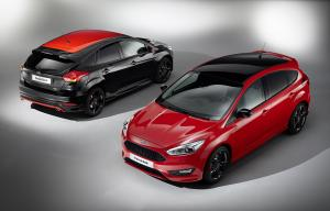 Ford Focus Black and Red 2015 года