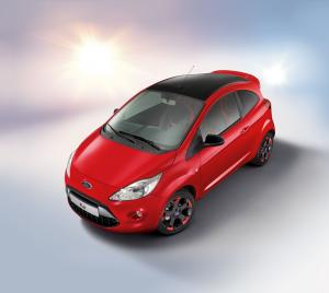 2015 Ford Ka Red & Black