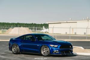2015 Ford Mustang GT by Davenport Motorsports on ADV.1 Wheels (DVP03 MV2 CS)