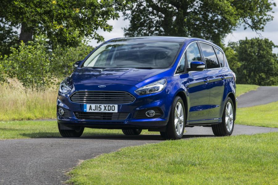 Ford S-Max (UK) '2015