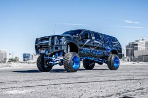 2016 Ford F-250 Dark Knight by BTS Customs