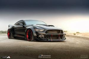 Ford Mustang GT Widebody by Simon Motorsport 2016 года
