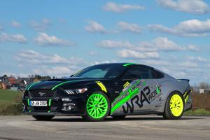 Ford Mustang GT by WRAPworks 2016 года