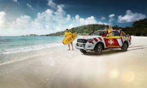 2016 Ford Ranger Great Barrier Reef Beach Patrol Showcar