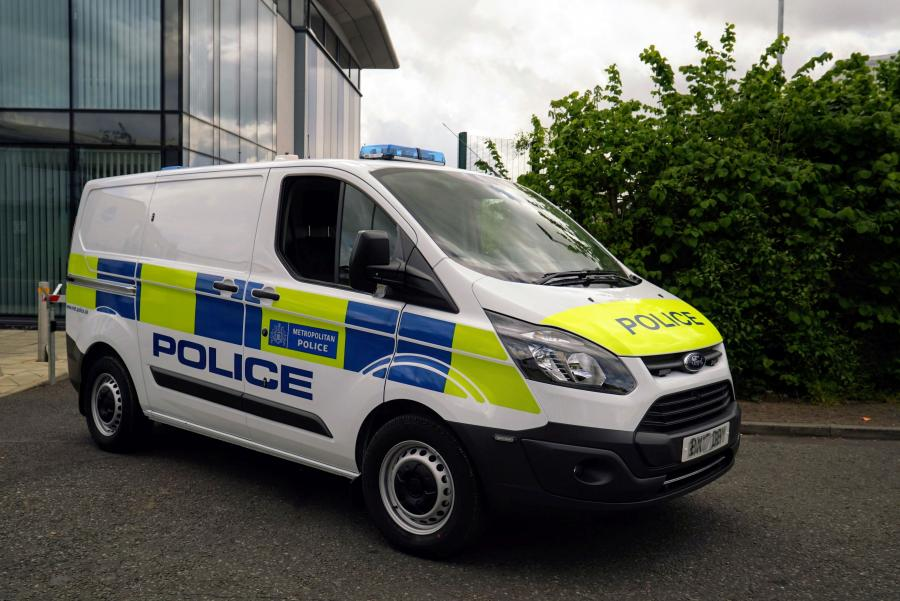 2016 Ford Transit Custom PHEV Police (UK)