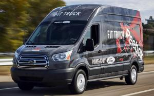 Ford Transit FitTruck by TransitWorks & Adrian Steel 2019 года (US)