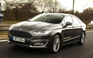 2016 Ford Vignale Mondeo Hybrid Sedan (UK)