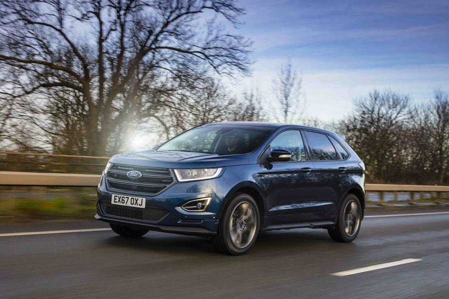 Ford Edge ST-Line (UK) '2017