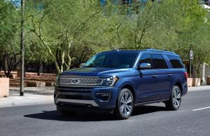 Ford Expedition MAX Platinum 2017 года