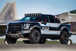 Ford F-150 Raptor Inspired by F-22 Fighter Jet 2017 года