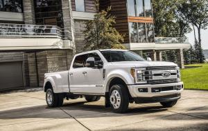 2017 Ford F-450 Limited Super Duty