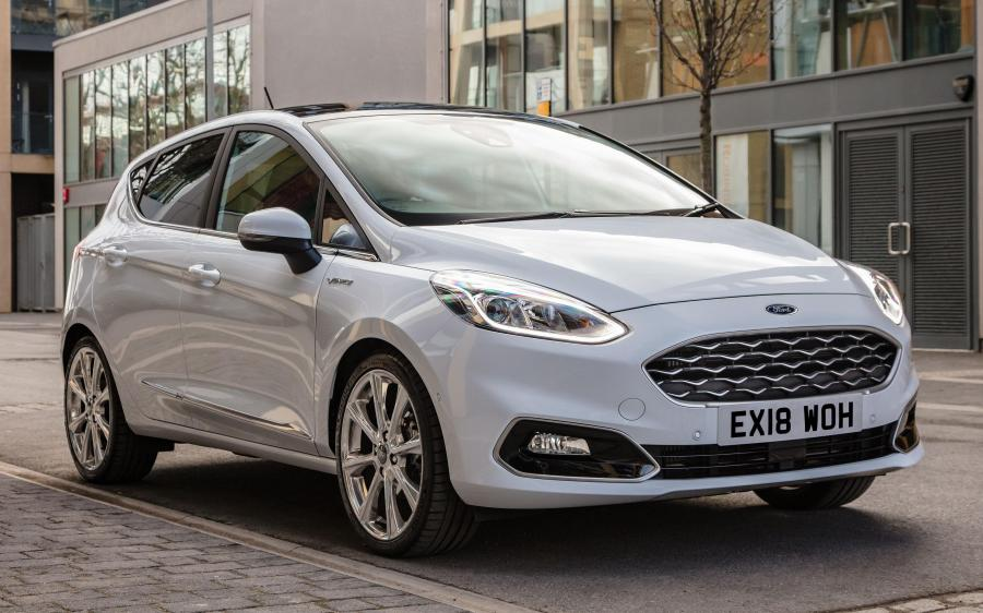 Ford Fiesta Vignale 5-Door (UK) '2017