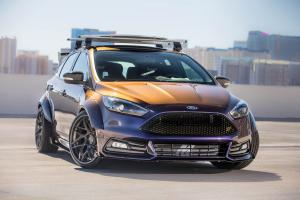 Ford Focus ST by Blood Type Racing 2017 года