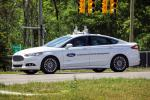 Ford Fusion Hybrid Autonomous Vehicle 2017 года