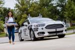 Ford Fusion Hybrid Self-Driving Domino's Pizza Delivery Vehicle 2017 года