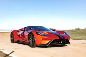 Ford GT Beryllium Orange 2017 года