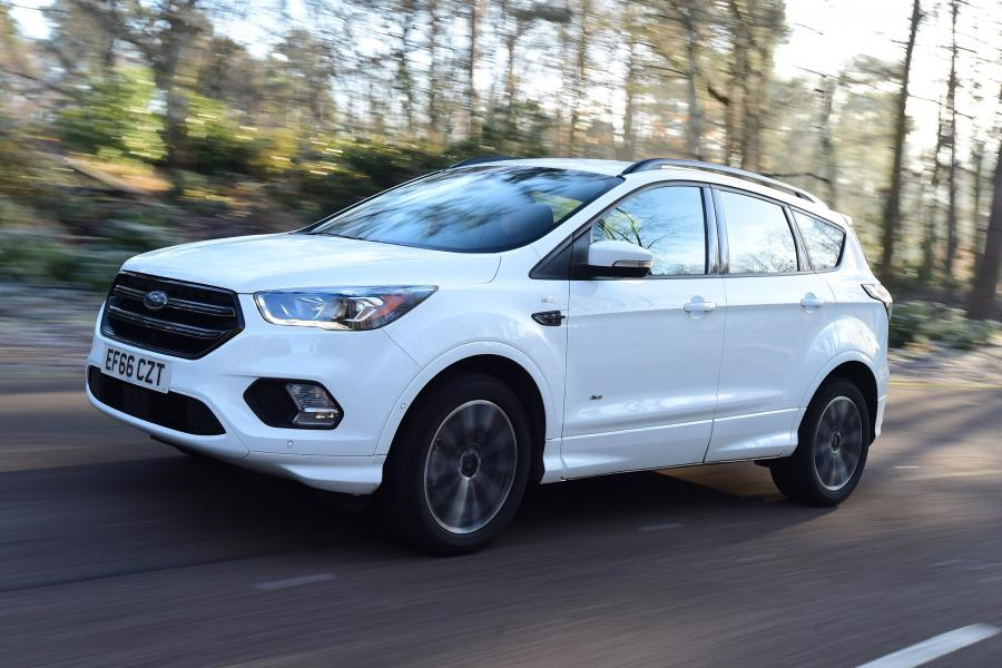 2017 Ford Kuga ST-Line (UK)