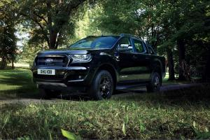 2017 Ford Ranger Limited Black Edition Double Cab