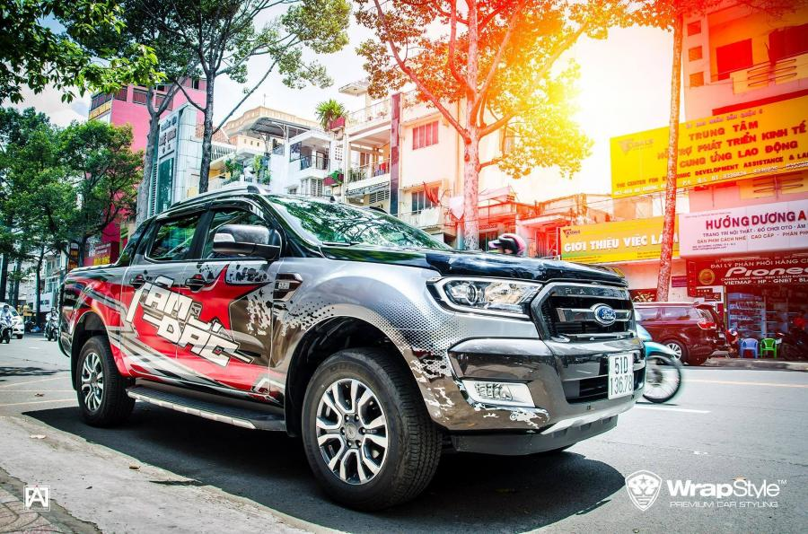 Ford Ranger Wildtrak by WrapStyle