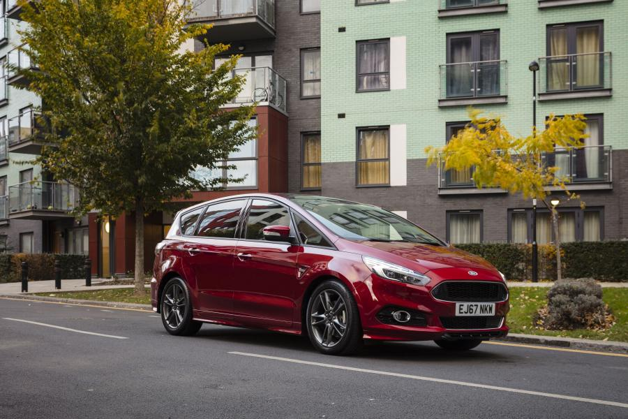 Ford S-Max ST-Line (UK) '2017